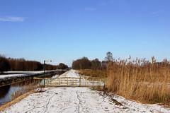 Catovaart (Ernst-Jan de Vries) Tags: hoogveen veen peat bog nature canal snow winter landscape klazienaveennoord drenthe canoneos60dtamron1750f28ernstjandevries