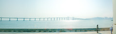 Ponte da Amizade (Kai-Ming :-))) Tags: macau macao amizadebridge pontedaamizade kaiming kmwhk bridge sea sunlight panaorama