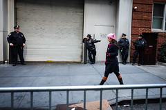DSCF0976 (john fullard) Tags: 2017 candid city fujixpro1 january manhattan newyork nyc pink protest trump urban womensmarch
