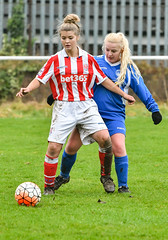 You Shall Not Pass! (ukmjk) Tags: staffordshire stoke city reserves ladies football team goldenhill wanderers nikon nikkor d500 70200 vr2 county cup