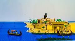 Exposição LEGO - Leiria (tiagosilva45) Tags: lego leiria miniature egypt anubis temple nilo