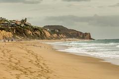 LA 2017-6999 (delon_anno) Tags: beach california zumabeach ocean water sand cliffs coast pacificocean canon t5i