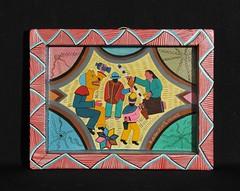 Kichwa Quichua Tigua Painting Andes Ecuador (Teyacapan) Tags: andean art paintings ecuador kichwa quichua fiestas tigua masks