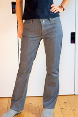 Jeans_front2 (Two_tango) Tags: jeans denim pants trousers hose nähen sewing garments diy crafting flared flares stretch fit
