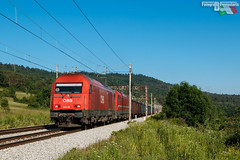 Gemelle diverse (Fotografia Ferroviaria Digitale) Tags: merci zug slovenia taurus treno hercules sz 2016 obb slovenjia