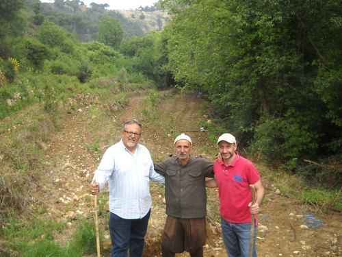 Nabeh Elsafa  Visit Inspect plants after planting aa May 23, 2014
