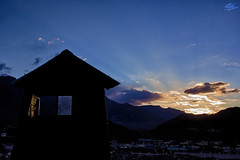 Somewhere near Leh City. (Aman S Agrawal) Tags: india silhouette clouds landscape incredible leh ladakh incredibleindia amanagrawal