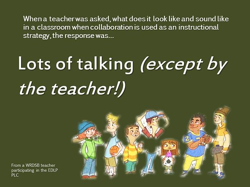 Educational Postcard:  Collaboration is by Ken Whytock, on Flickr