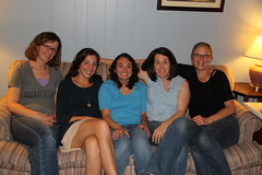 The moms on the couch (Aggiewelshes) Tags: vanessa julie may lisa couch kelley memorialday 2015 jalila