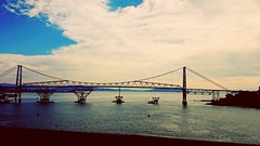 lovely bridge (marinamferri) Tags: city bridge sea brazil florianópolis pontehercilioluz