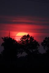 Sun spots at dusk - Macchie solari al tramonto (Andrea Lugli) Tags: sun canon sigma spot os dg solari macchie hsm 150500 eos60d
