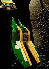 Alternate view (CeciΙie) Tags: starwars lego scifi sw speeder episodeii moc xj6 zamwesell koro2
