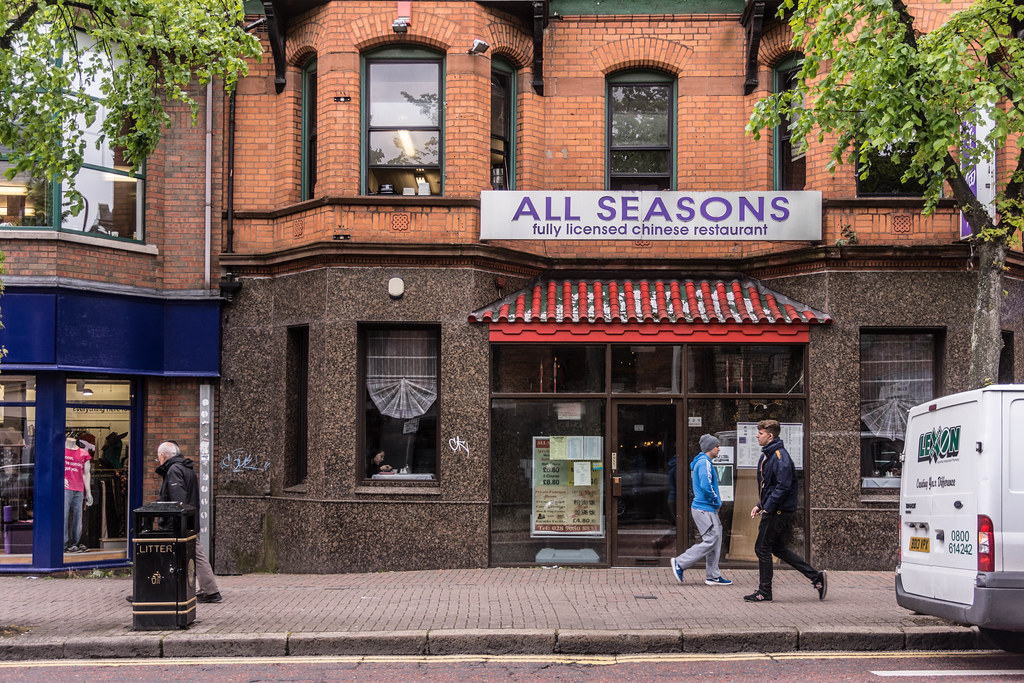 BELFAST CITY MAY 2015 [ALL SEASONS CHINESE RESTAURANT] REF-106433