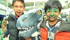 "LITTLE RAH - EVERYBODY SAY ""RAH!"" (Mr Cleaver's Monsters) Tags: dinosaur mr puppet leicester monsters haymarket cleaver tyrannosaur"