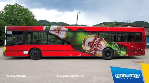 Info Media Group - Nektar pivo, BUS Outdoor Advertising, Banja Luka, Doboj 07-2015 (1)