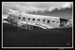 Solheimasandur Plane Wreck (doctorangel) Tags: angel plane iceland islandia playa doctor wreck dc3 negra avion restos sandur solheimasandur doctorangel