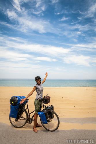 Wybrzeże Korei Południowej jest piękne