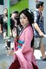 Star Wars Celebration 7 (V Threepio) Tags: pink girl asian starwars costume outfit princess cosplay chinese posing dressup disney convention jedi scifi kimono mulan 35mmlens swca canon7d famulan greenlightsaber starwarscelebration7 swc7 forcegirl