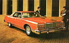 1977 Mercury Grand Marquis 4-Dr. Pillared Hardtop (aldenjewell) Tags: door hardtop mercury dr postcard 4 grand 1977 marquis pillared