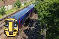 158954, Sydneham Terrace, Portsmouth, June 3rd 2013 (Southsea_Matt) Tags: train railway portsmouth firstgreatwestern fratton portsmouthharbour dmu cardiffcentral class158 158954 sydenhamterrace