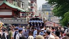 Daigyretsu (lstr  clonn) Tags: japan tokyo  nippon asakusa japon sanjamatsuri japn   daigyoretsu japan2015