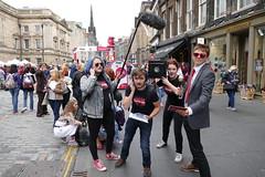 Edinburgh Fringe Festival 2015 (29) (Royan@Flickr) Tags: street costumes festival actors high edinburgh royal fringe entertainment international acting singers performers mile 2015 20150811