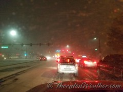 December 16, 2016 - The latest snowstorm rolls into Thornton. (ThorntonWeather.com)