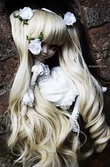 Hole in my soul | Pullip Kirakishou 2014 (·Kumo~Milk·^^) Tags: kirakisho kirakishou kirakishou2014 rozenmaiden stock stockoutfit rewigged wig rechipped eyechips eyelashes gloss obitsu junplanning doll groove