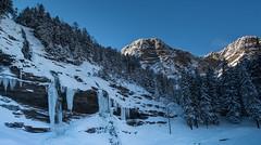 Cascade du Rouget (glassonlaurent) Tags: 74 haute savoie france neige montagne sixt fer cheval paysage hiver cascade du rouget