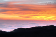 FOG OCEAN SUNRISE (Larry W Brown) Tags: shenandoahnationalpark virginia densefog cloudinversion fog