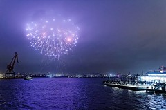 New Years Eve Fireworks Over The Harbour of Gothenburg - From Sweden With Love (Cederquist Christoffer) Tags: