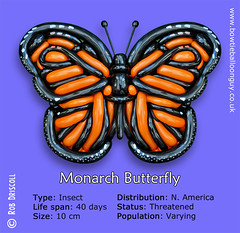 A-Z of Endangered Species - Monarch Butterfly (magirob) Tags: endangeredspecies endangered wwf monarch butterfly balloon twisting