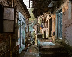 Slums, Study 1 (maciej.leszczynski) Tags: chongqing slums city urban night architecture documentary fineart exploration