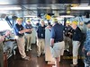 On the bridge - USS ROOSEVELT 12-29-16 (Bob_ Perry) Tags: ussroosevelt usstheodoreroosevelt cv71 aircraftcarrier shipsbridge bridge