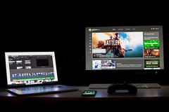 Edits (AndyCastellini) Tags: macbook pro xbox 1 xbox1 project 365 nj 856 vineland desk office edit editing lightroom photoshop canon 5d mkiii 50 f14 iphone 6s apple savgflowy