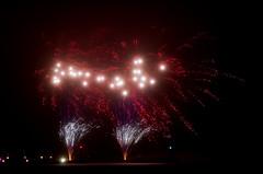 Happy new year (Jan Wasmund) Tags: feuerwerk fireworks hell dunkel darkness light bright rocket rakete stralsund pentax k50 langzeitbelichtung hafen harbour wasser water silvester 2016 3112 happynewyear schwarzerhintergrund drausen outdoor space