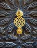 Porte sculptée (Des Goûts et des Couleurs) Tags: art architecture maroc marrakech ryad porte sculptée noir or doré macro blog dgdc desgoûtsetdescouleurs charlottedumas