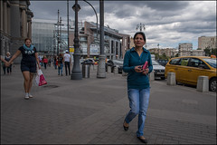 DR150802_0961D (dmitry_ryzhkov) Tags: terminal station railway look looks day one woman women lady sony alpha color colour colourful colours colorful colors motion movement walk walker walkers pedestrian pedestrians sidewalk art city europe russia moscow documentary journalism street streets urban candid life streetlife citylife outdoor outdoors streetscene close scene streetshot image streetphotography candidphotography streetphoto candidphotos streetphotos moment light shadow people citizen resident inhabitant person portrait streetportrait candidportrait unposed public face faces eyes