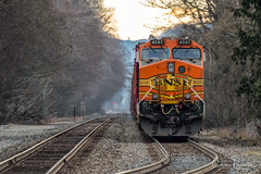 Down the Tracks (Chris Parmeter Photography (smokinman88)) Tags: railroad train tracks trees machine locomotive railway transportation washington fuji xt2 100400mm 14x