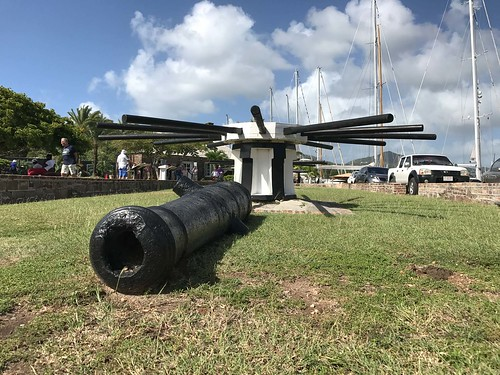 Antigua cannon barrel