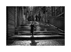Backlight (Jan Dobrovsky) Tags: contrast document israel jerusalem monochrome people street old town nikon d80