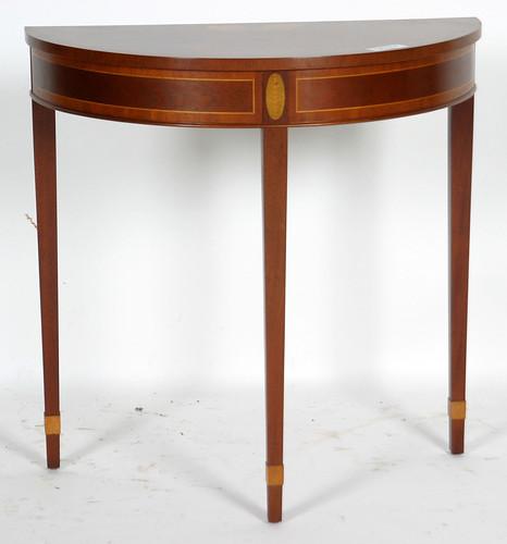 Baker Half Moon Inlaid Table ($357.50)