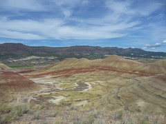 Painted Hills (Tom Trent) Tags: johndayfossilbeds paintedhills oregon volcanic ash formation