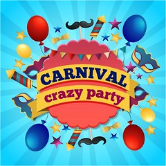 free Vector Happy Brazil Carnival Crazy Party Background (cgvector) Tags: allegory antifaz background balloon balloons bambini birthday brasil brazil card carnaval carnival children colors confetti costumes crazyparty eve feast feathers fun games greeting halloween happy harlequin illustration insert invitation joke label makeup mascara mask masks new parties party postcard shrove space star streamers texttransparency tuesday vector venice vetor year your design rio symbol celebration traditional decorative color colorful banner holiday festive janeiro de fashion circus backdrop festival