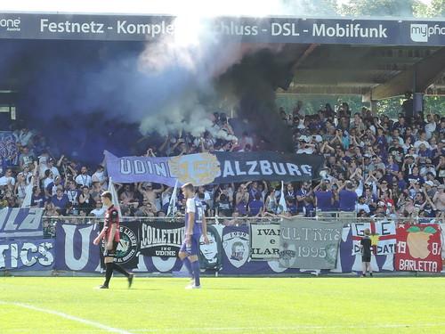 SV Austria Salzburg vs. FC Hard: Transparent zur Freundschaft mit Udinese Calcio