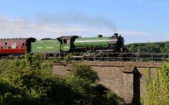 61306 'Mayflower' LNER Thompson Class B1 4-6-0, Keynsham, Somerset (Kev Slade Too) Tags: steam thomson mayflower keynsham 460 lner cathedralsexpress 61306 classb1
