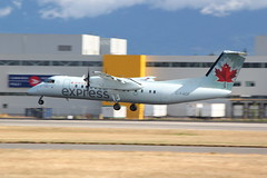 Air Canada Jazz (QK) | DH3 | C-FADF | #310 | YVR | AC8058 from YYJ (leoyvr) Tags: jazz yvr 310 qk dh3 aircanadajazz cyvr dash8300 cfadf
