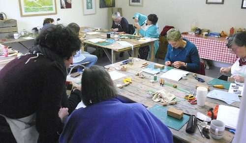 Leatherwork - Belts & Purses with Ruth Pullan