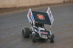 #51S Stevie Smith entering turn 3 at Path Valley Speedway (Glenn Courtney) Tags: race pennsylvania smith racing pa dirt 51 oval sprintcar 51s steviesmith pathvalley pathvalleyspeedway