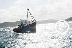 The 'Pen Dinas' boat at sea, off Aberystwyth / Cwch y 'Pen Dinas' ar y môr, oddi ar arfordir Aberystwyth (Ceredigion Fisheries Local Action Group (FLAG)) Tags: uk wales boat town fishing crab aberystwyth lobster welsh cardiganbay seafish inshorefishing johngorman
